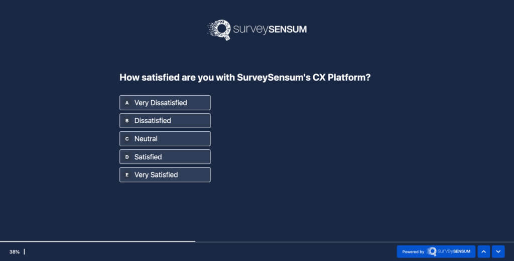Likert Scale SurveySensum