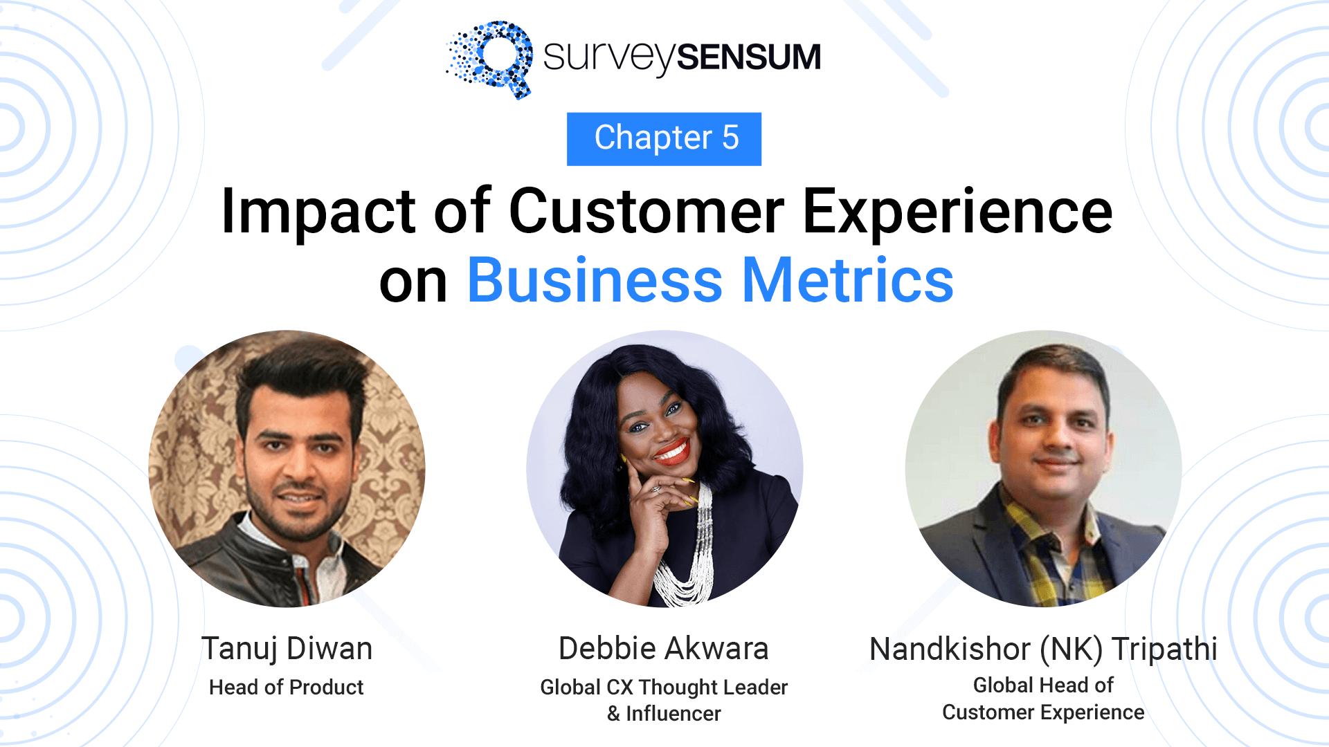 Impact of CX on Business Metrics